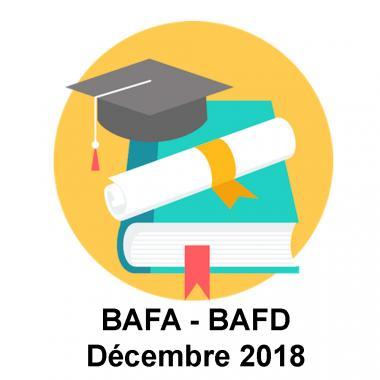 Lauréat Décembre 2018 BAFA BAFD