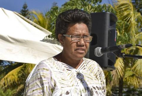 Valentine Eurisouké a prononcé le discours d'ouverture (© Tazar)