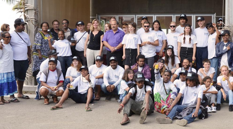 Premier échange organisé en juillet 2016 entre jeunes Belges et Calédoniens dans le cadre du programme Erasmus + Jeunesse et Sport.